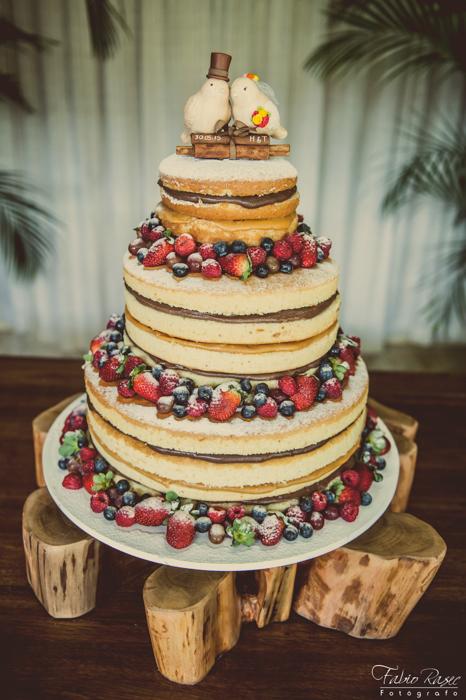 _ (26) Naked Cake, Naked Cake Casamento, Bolo Naked Cake, Bolo de Casamento Naked Cake, Naked Cake Dona Trufa, Bolo de Casamento Perfeito, Lindo Bolo de Casamento