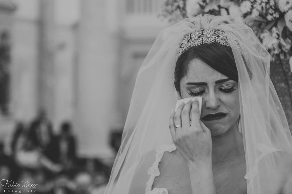 (41) Noiva Chorando, Noiva Emocionada