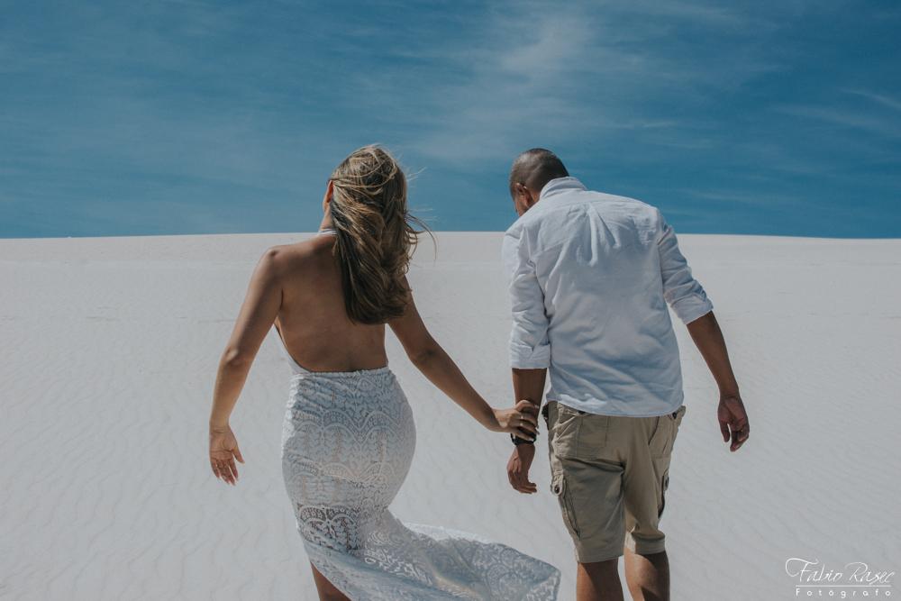 Ensaio Fotografico nas dunas