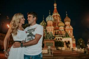 Ensaio Fotografico em Moscou